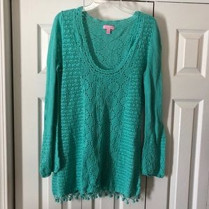 Lilly Pulitzer Crocheted Cover-Up